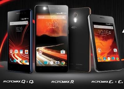 Smartfren Luncurkan 5 Ponsel Terbaru Andromax 4G LTE, Andromax R, Andromax Q, Andromax Qi, Andromax Ec, dan Andromax Es