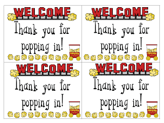 Thanks for Popping In! - Fun in First Grade