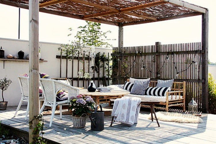 Outdoor Bamboo Furniture.