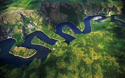 Southwestern Serbia: The canyon of the Uvac River