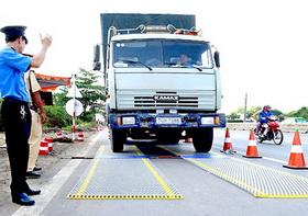 Kiểm tra tải trọng xe tải