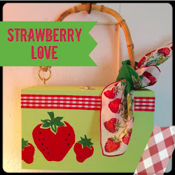 Check Out My Strawberry Box Purse Project