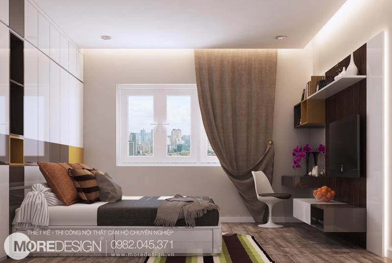Nội thất căn hộ chung cư 64m2 đẹp