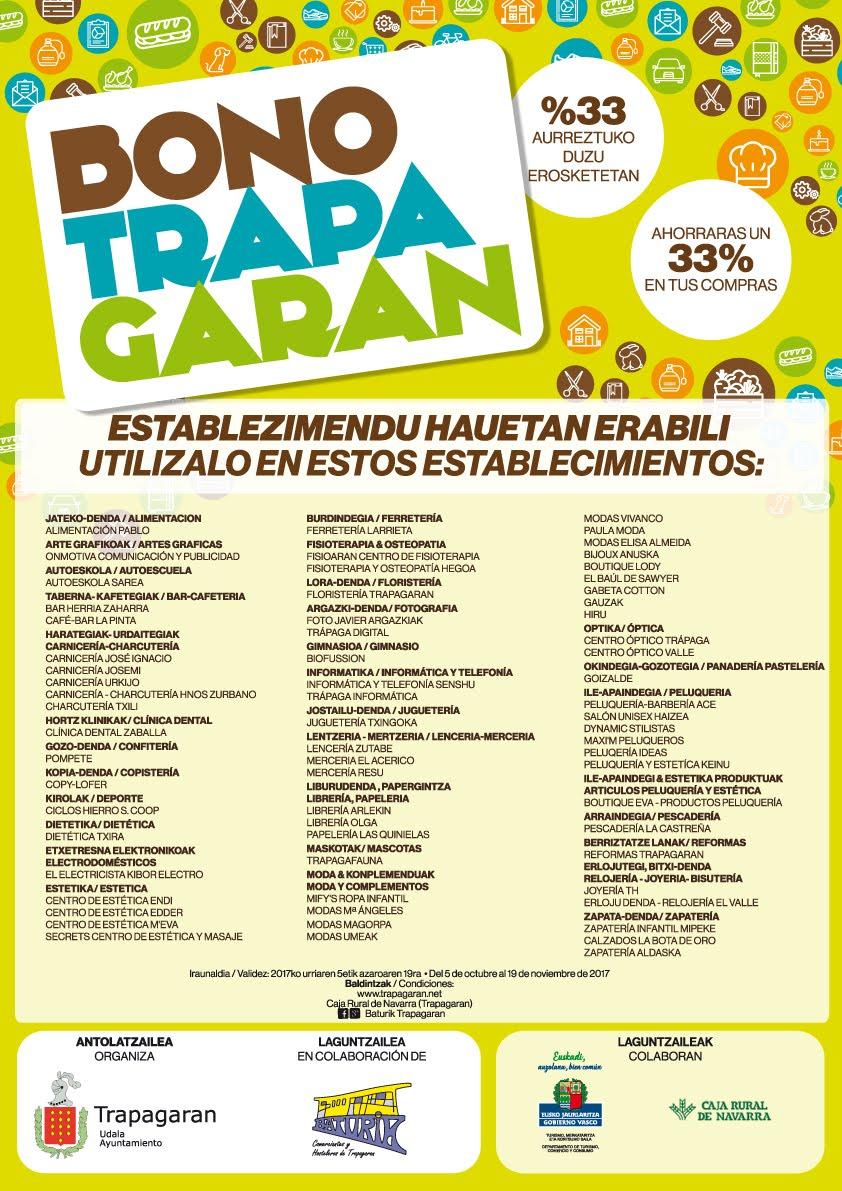NUEVA CAMPAÑA BONO TRAPAGARAN
