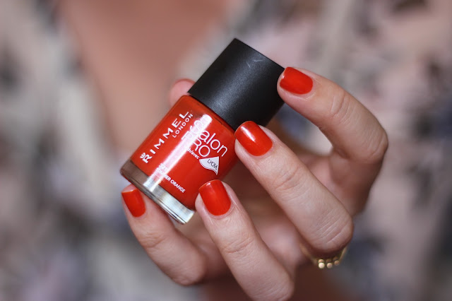 Rimmel Salon Pro Nail Polish Summer Orange