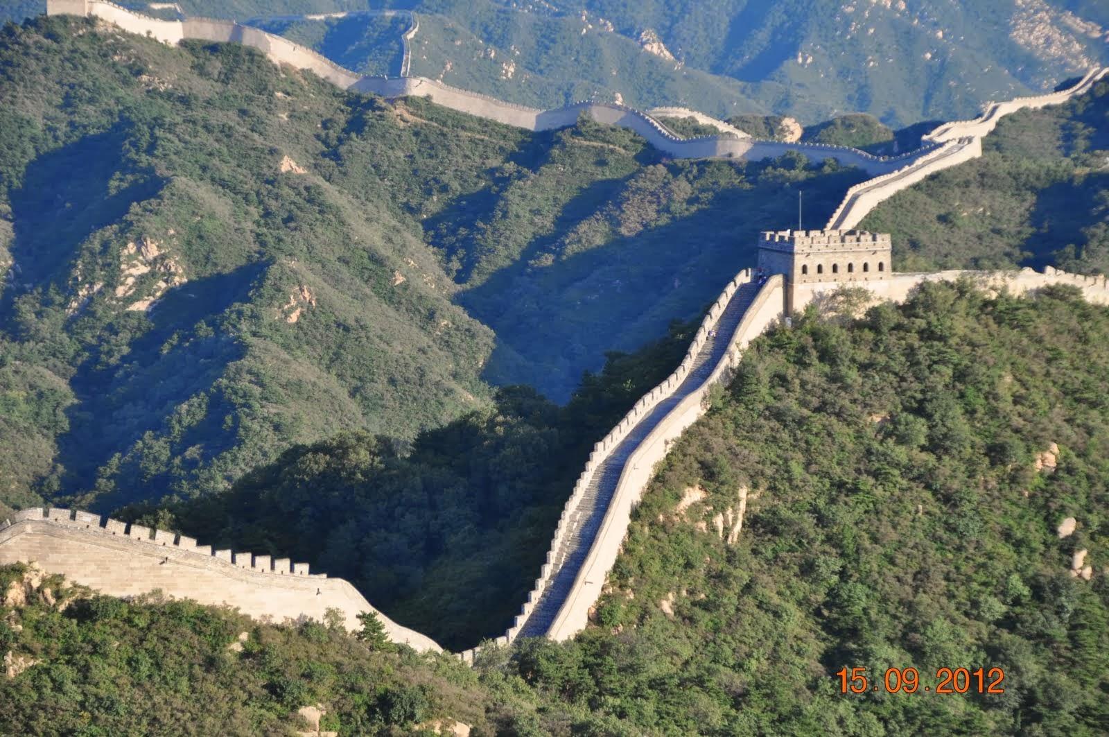 Do outro lado do mundo esclarecendo algumas informa es for A grande muralha da china
