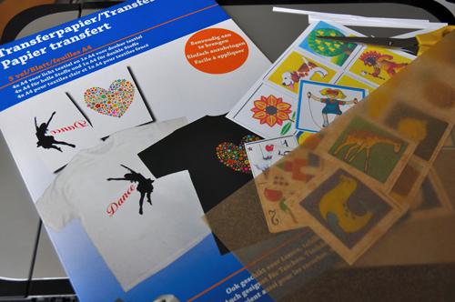 Dreamstuff zelf strijkapplicaties maken diy ironing labels for Transfer papier action