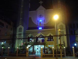 Igreja na cidade de Ho Chi Minh (Saigon) Vietnã.