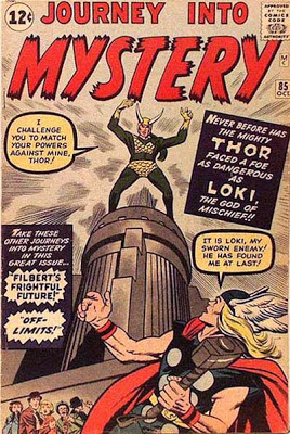 Journey into Mystery #85, Loki makes his first appearance