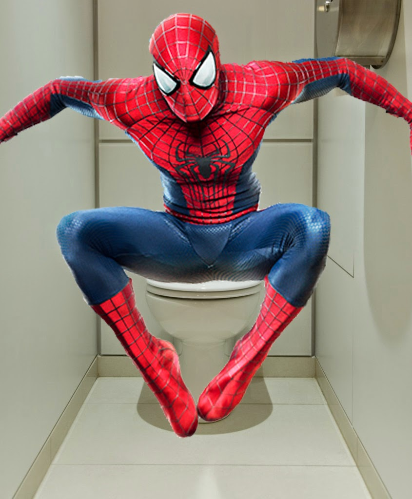 Andrew Garfield vpl spiderman spiderman tights shirtless plotless amazing spider-man 3