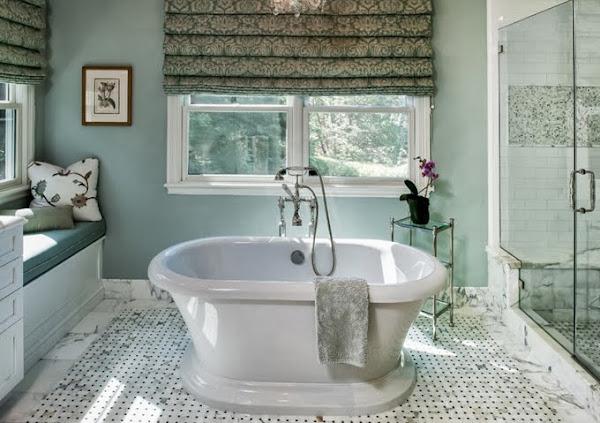 bano azul  Decorar tu casa es facilisimo.com