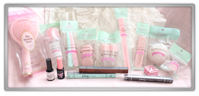 Jolse Order #24 Etude House Beauty Tools Haul Review blog beauty blogger accessories Pedi on the beach gel play 101 pencil
