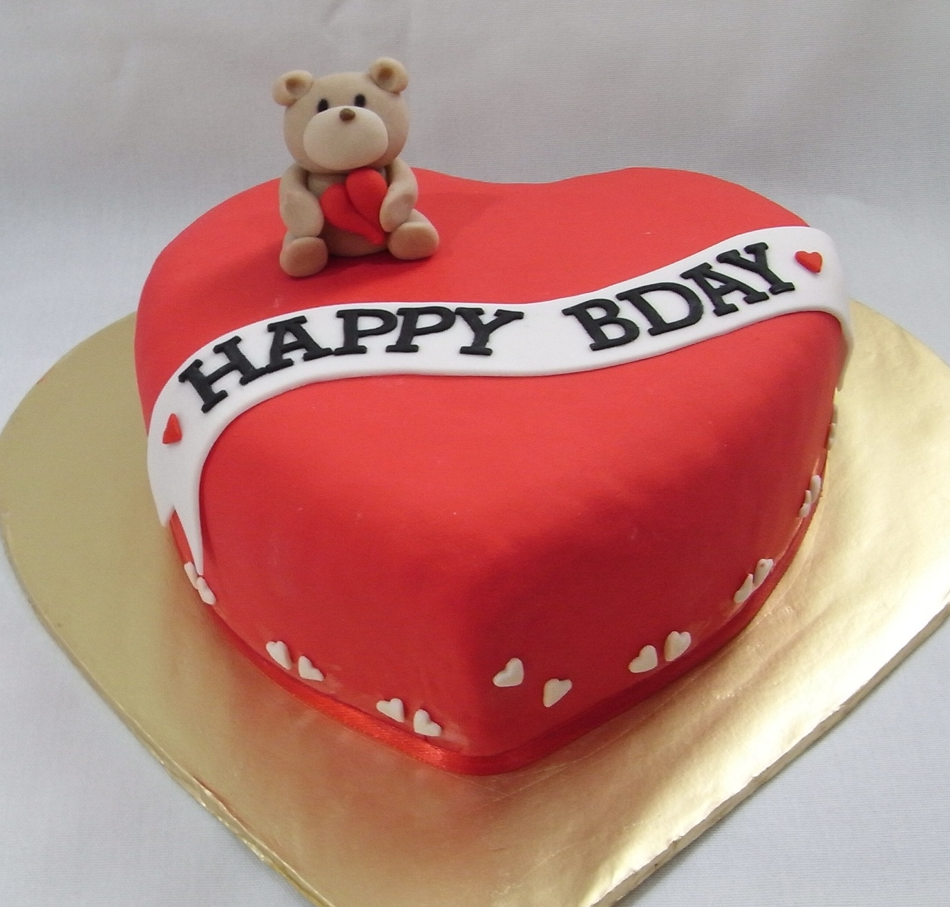 Heart Shaped Cake for Birthday  Free Delivery  YummyCake