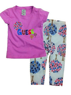 Clearance Stock - RM25 : Set 2pcs For Baby Girl