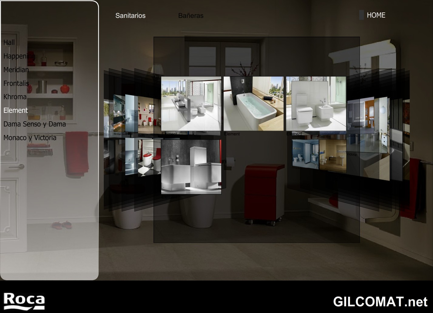 Roca showroom virtual en gilcomat blog for Roca showroom
