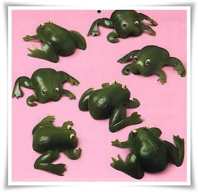 capcicum berbentuk katak