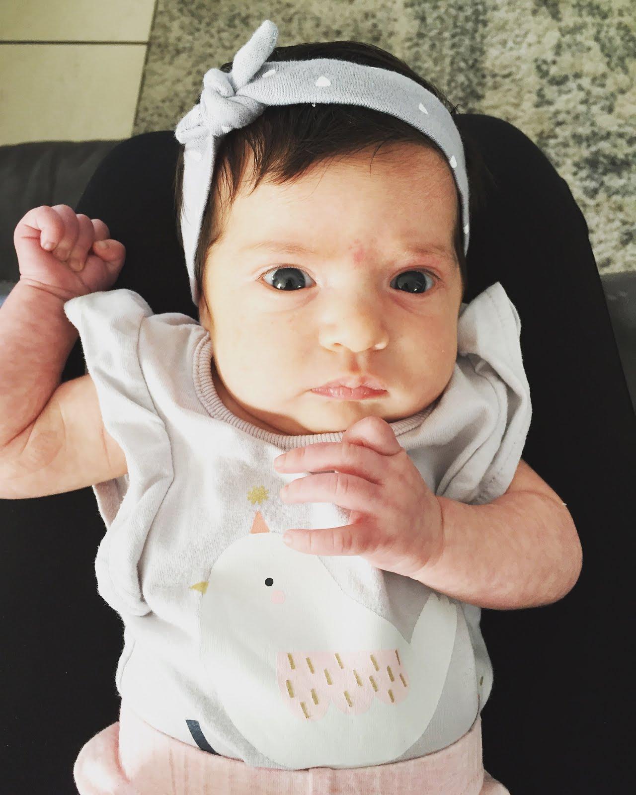 Ella 1 month