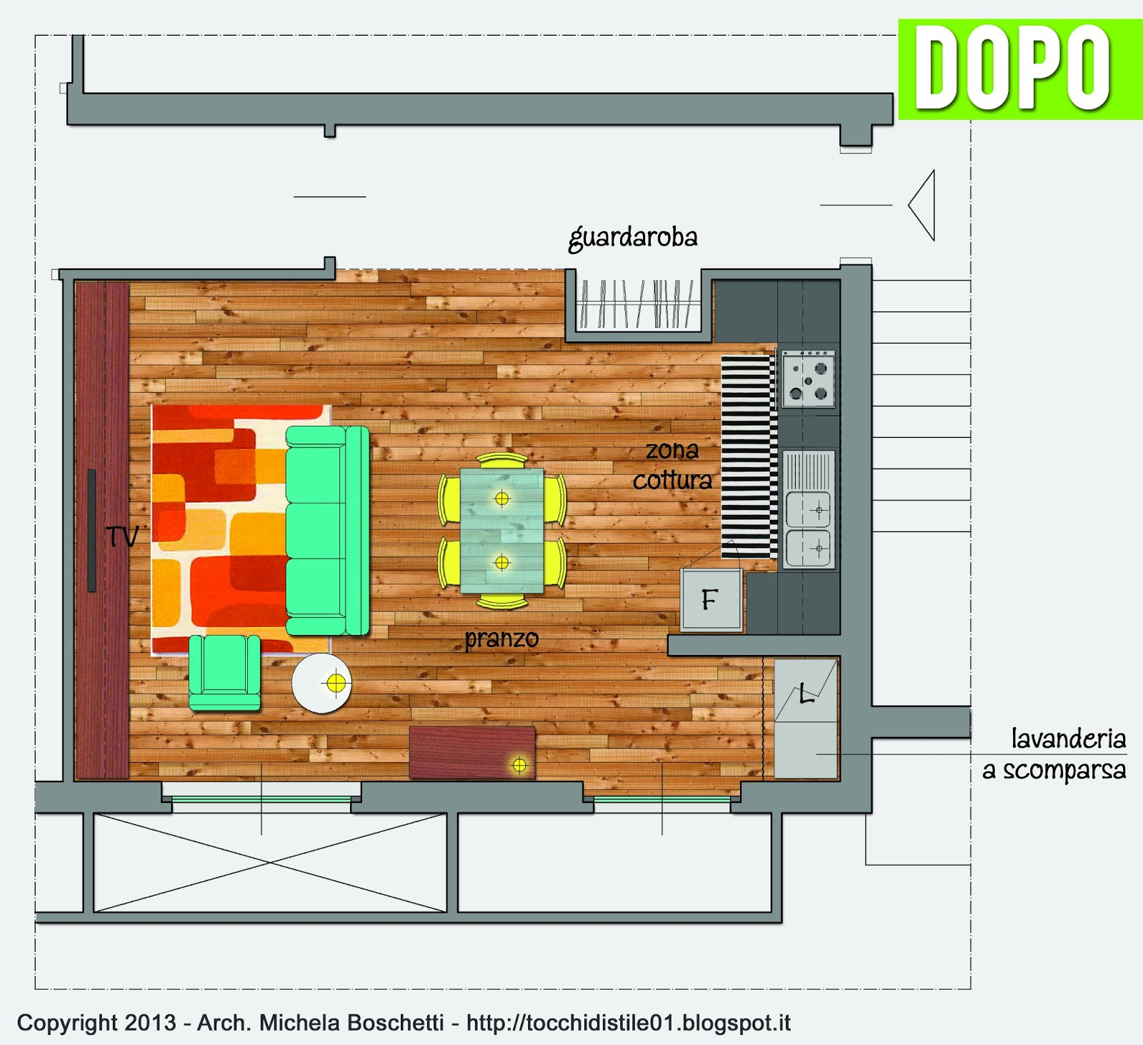 ambiente unico cucina soggiorno ~ dragtime for . - Cucina Soggiorno Unico Ambiente Classico 2