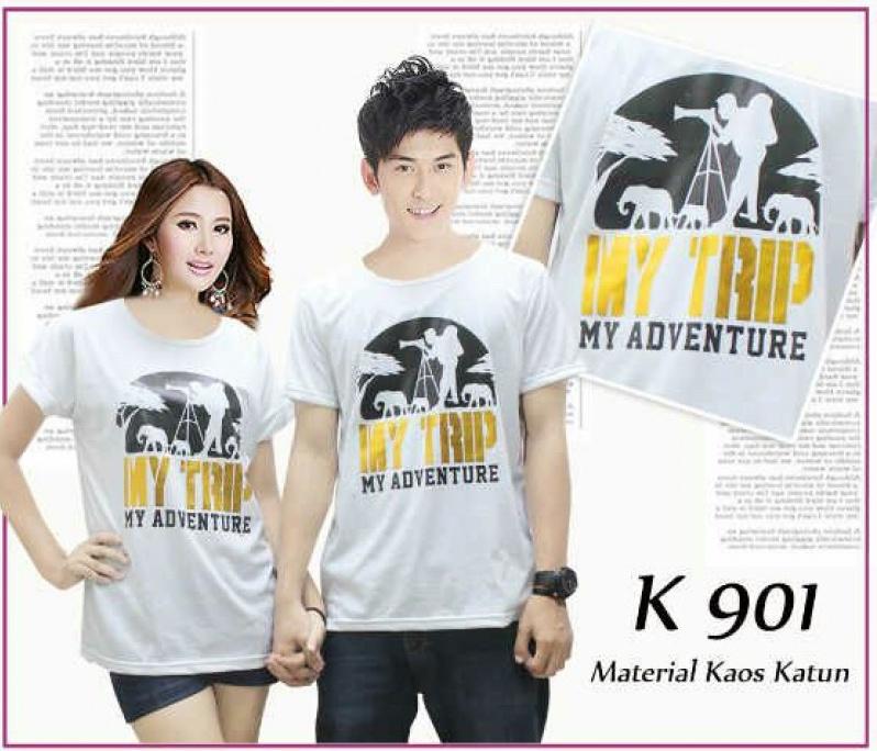 Jual Kaos OB My Trip Couple Online Murah di Jakarta Lengan Pendek Trendy