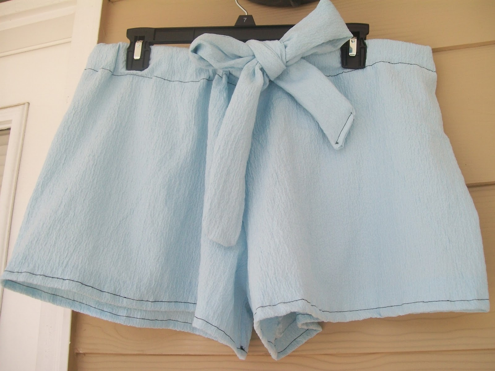 How to sew shorts 95