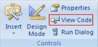 View VBA Code