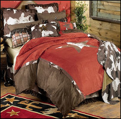 cowhide star bedding cowboy bedroom cowboy bedding western theme