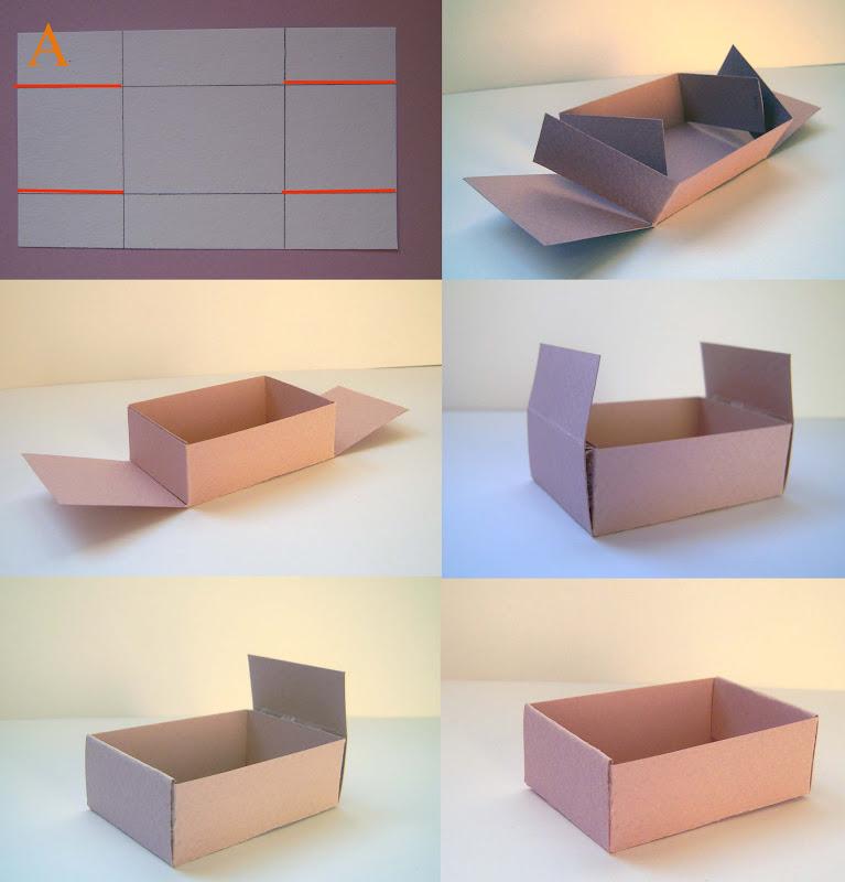 Коробочку своими руками из картона