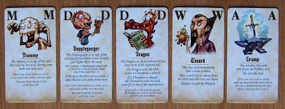 The Dwarf King - The 5 suit-less magic cards
