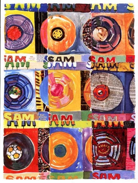 """Sam the Record Man"" Store Poster"