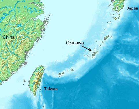 Японский остров Окинава