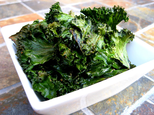 how to make fried kale chips