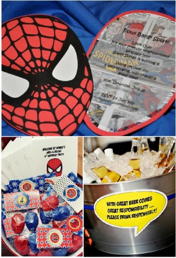 Spiderman Spider Hero Birth