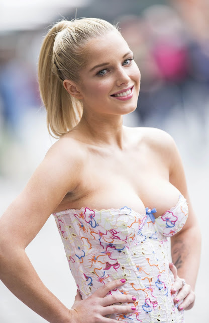 Helen Flanagan – PETA Anti Exotic Skins Event in London indianudesi.com