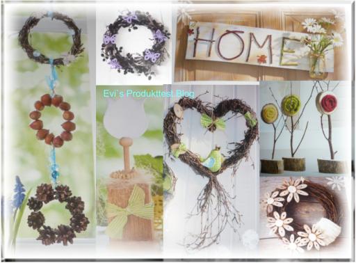 Evi s produkttestblog mit naturmaterialien dekorieren christophorus verlag - Herbstlich dekorieren mit naturmaterialien ...
