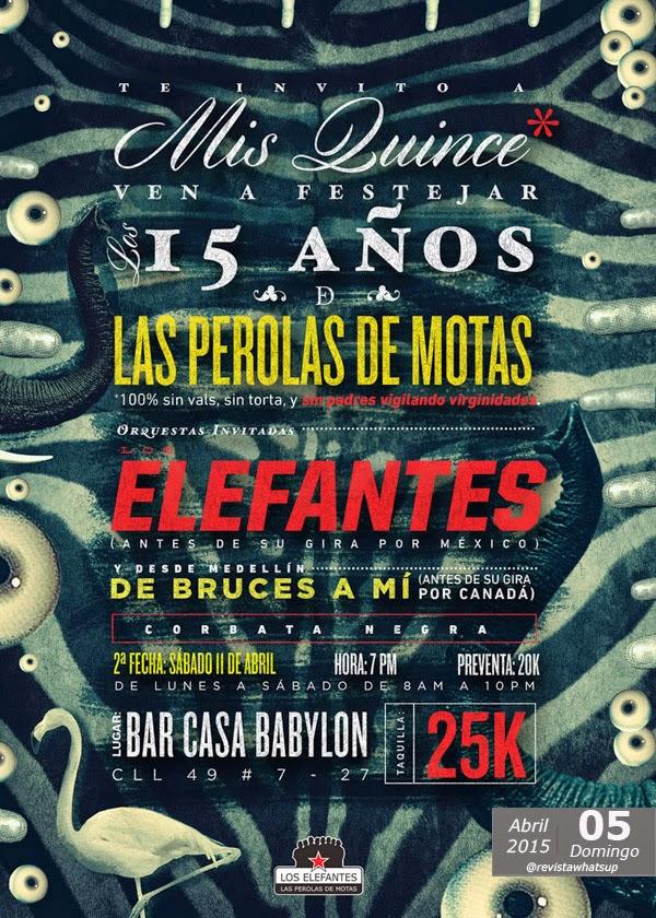 Los-Elefantes-celebran-15-años-primer-disco-TeInvitoAMisQuince-Abril