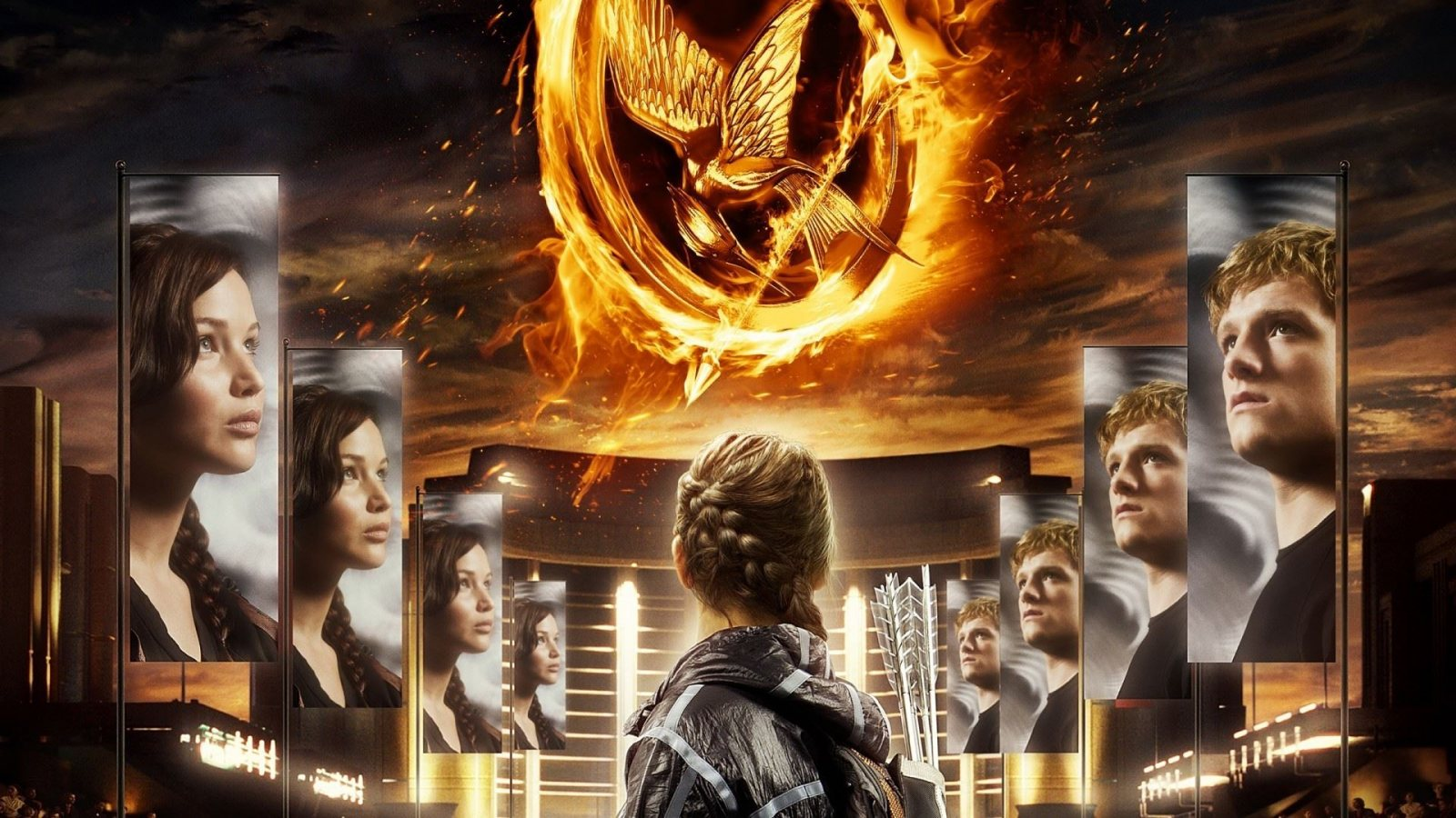 """... Liam Hemsworth, portraying Gale Hawthorne in """"The Hunger Games""""(2012"""