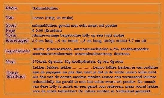 Lemco Salmiaklollies
