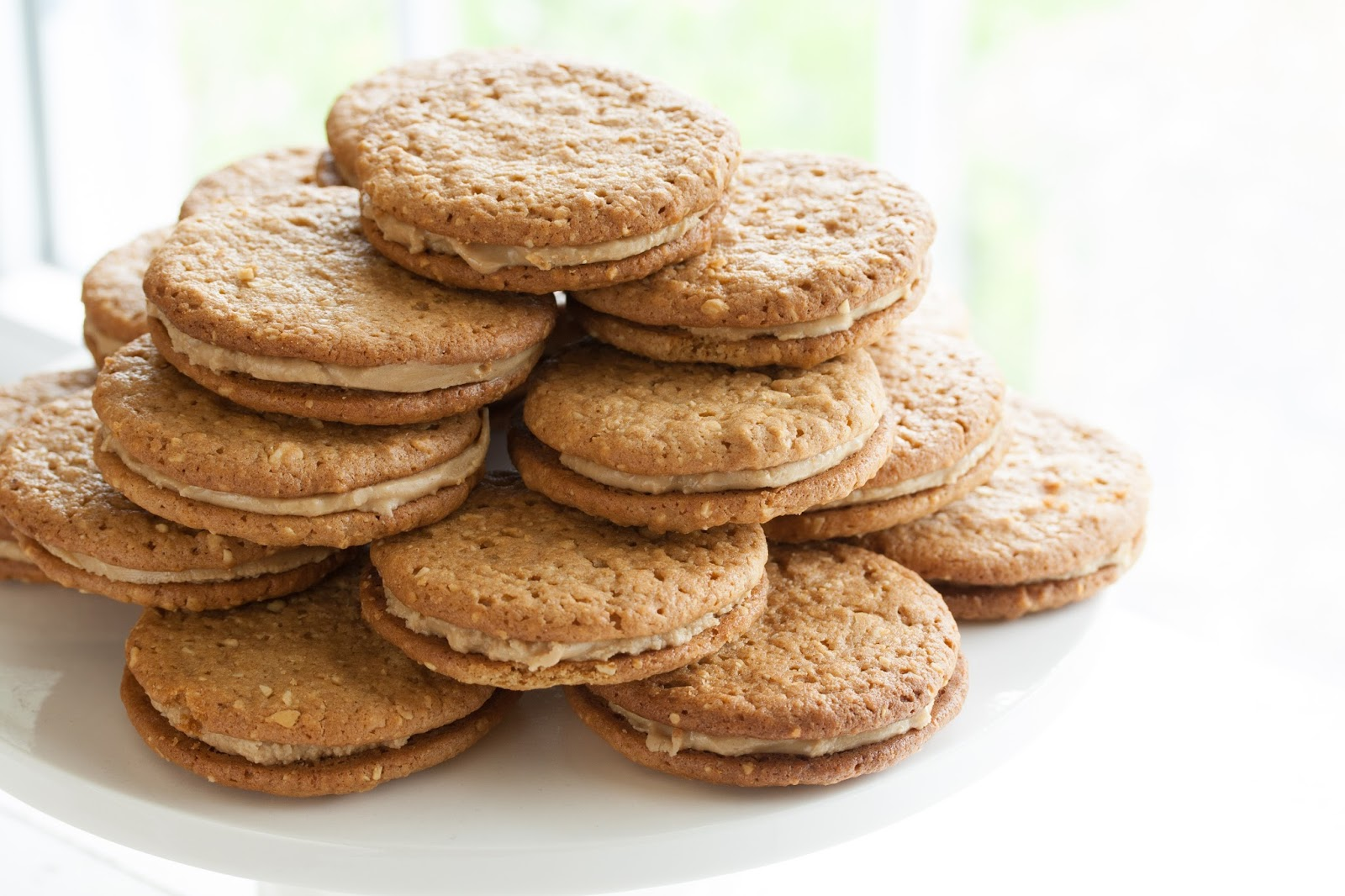 Peanut Butter Sandwich Cookies - Saving Room for Dessert
