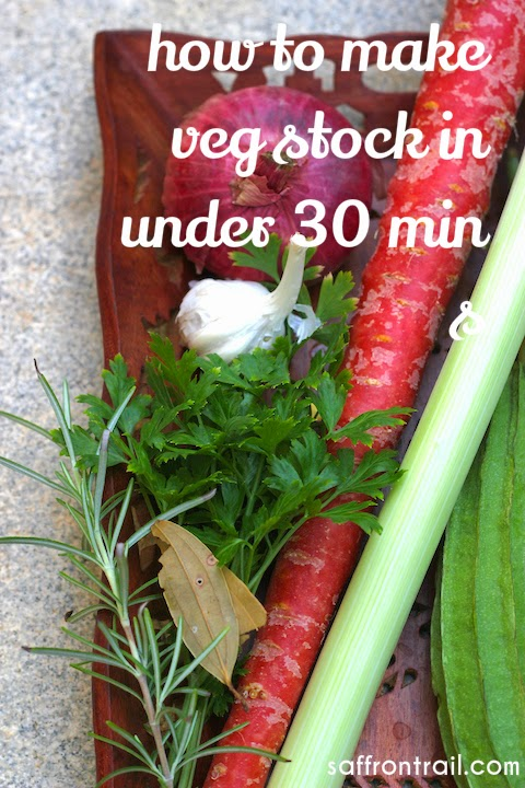 how to make vegetable stock for babies