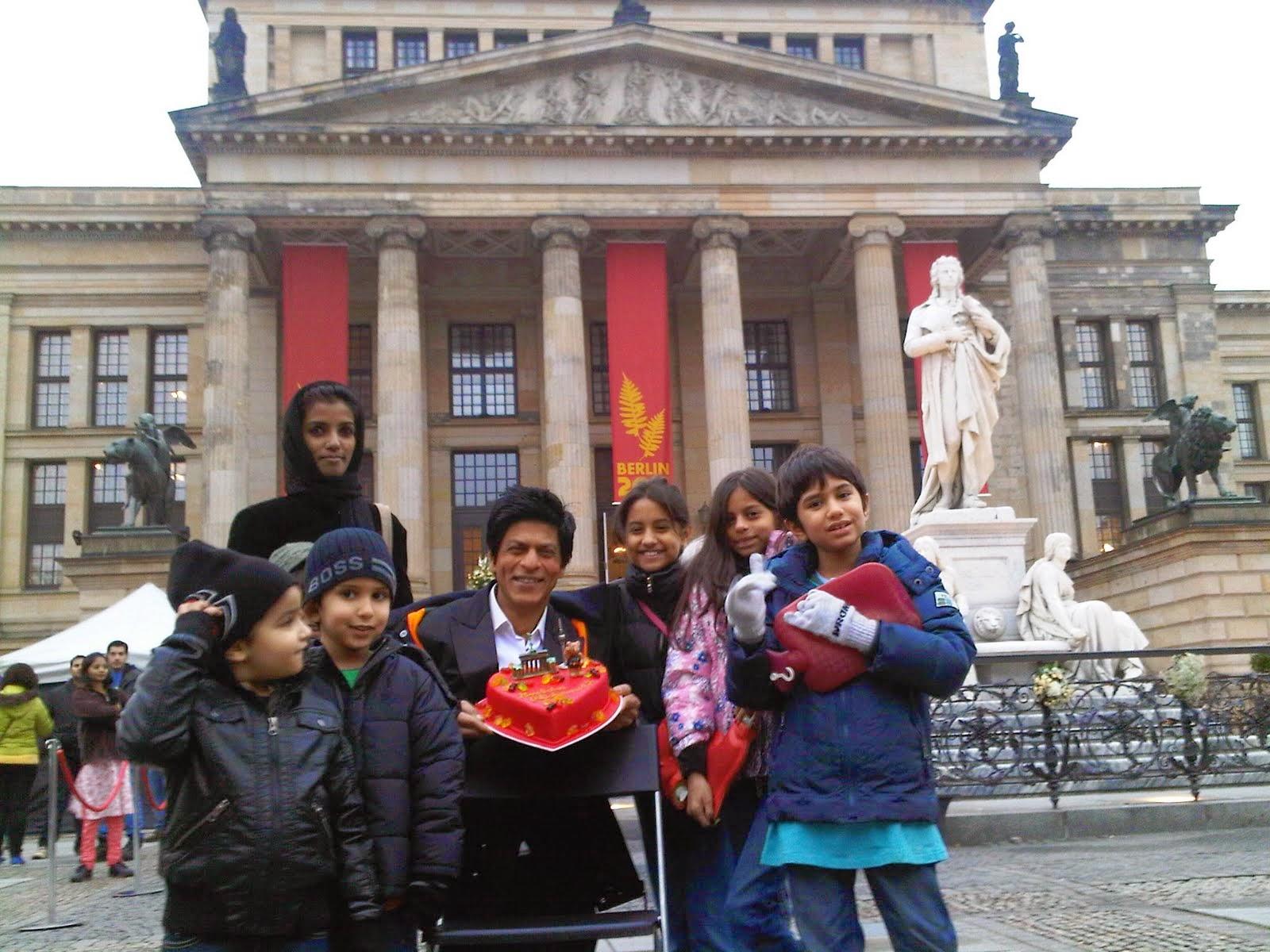 Shahrukh khan celebrity birthdays