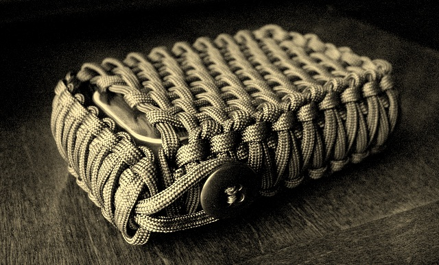Stormdrane 39 s blog survival tin playing card edc paracord for How to make a paracord bag