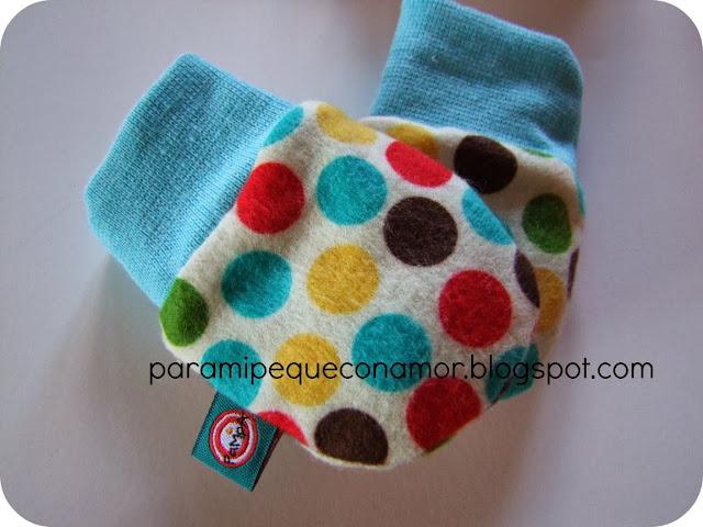 Famoso Patrón Gratuito De Punto Manoplas Para Bebés Modelo - Ideas ...