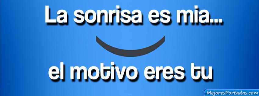 La sonrisa es mia
