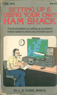 Setting Up & Using Your Own Ham Shack, on Awful Library Books