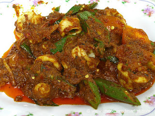 Okra ialah sayuran yang belum banyak kita lihat di pasar tradisional Resep Tumis Okra Cumi
