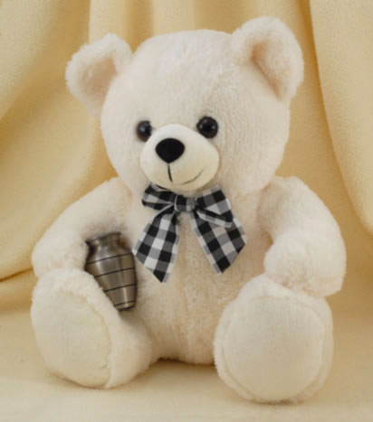 beautiful picture of white teddy bear