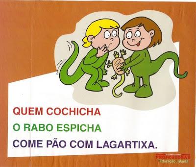 Parlendas Ilustradas - Rabo Espicha