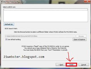 BIOS PCSX2