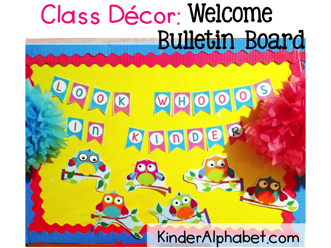 Classroom Decor Linky Party