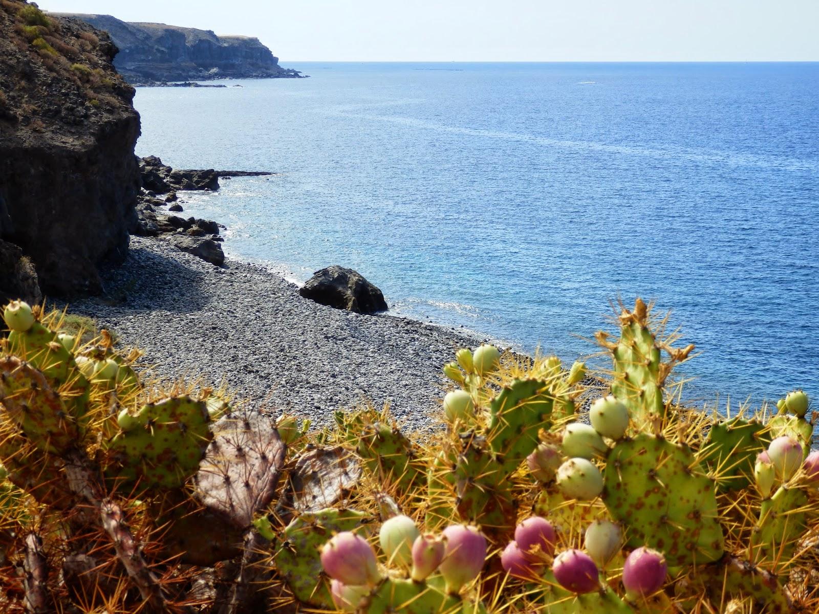 Cliff scene Tenerife